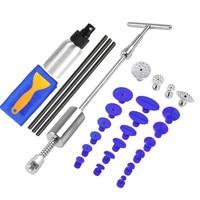 PDR Tools paintless Dent Repair Dent Puller Kit Dent removal Slide Hammer glue sticks Reverse Hammer Glue Tabs Car Hail Damage