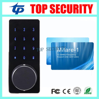 New Arrived Door Lock keypad MF/IC card Lock Digital Smart Door Lock Electronic TouchScreen numeric keypad Deadbolt Door Lock