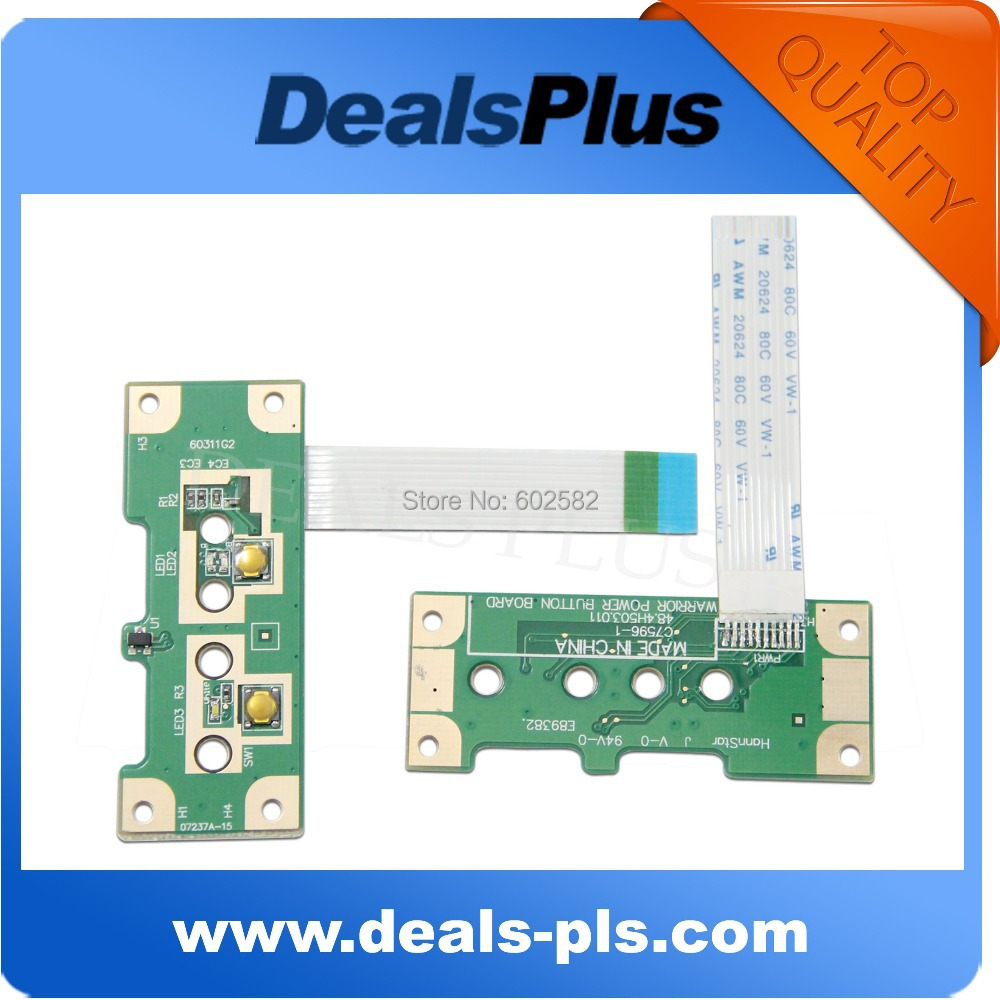 Hearty Free Shipping Origina For Hp For Compaq G4-2000 G6-2000 G7-2000 Button Series Power Switch Board On/off Daor33pb6e0 Computer Cables & Connectors