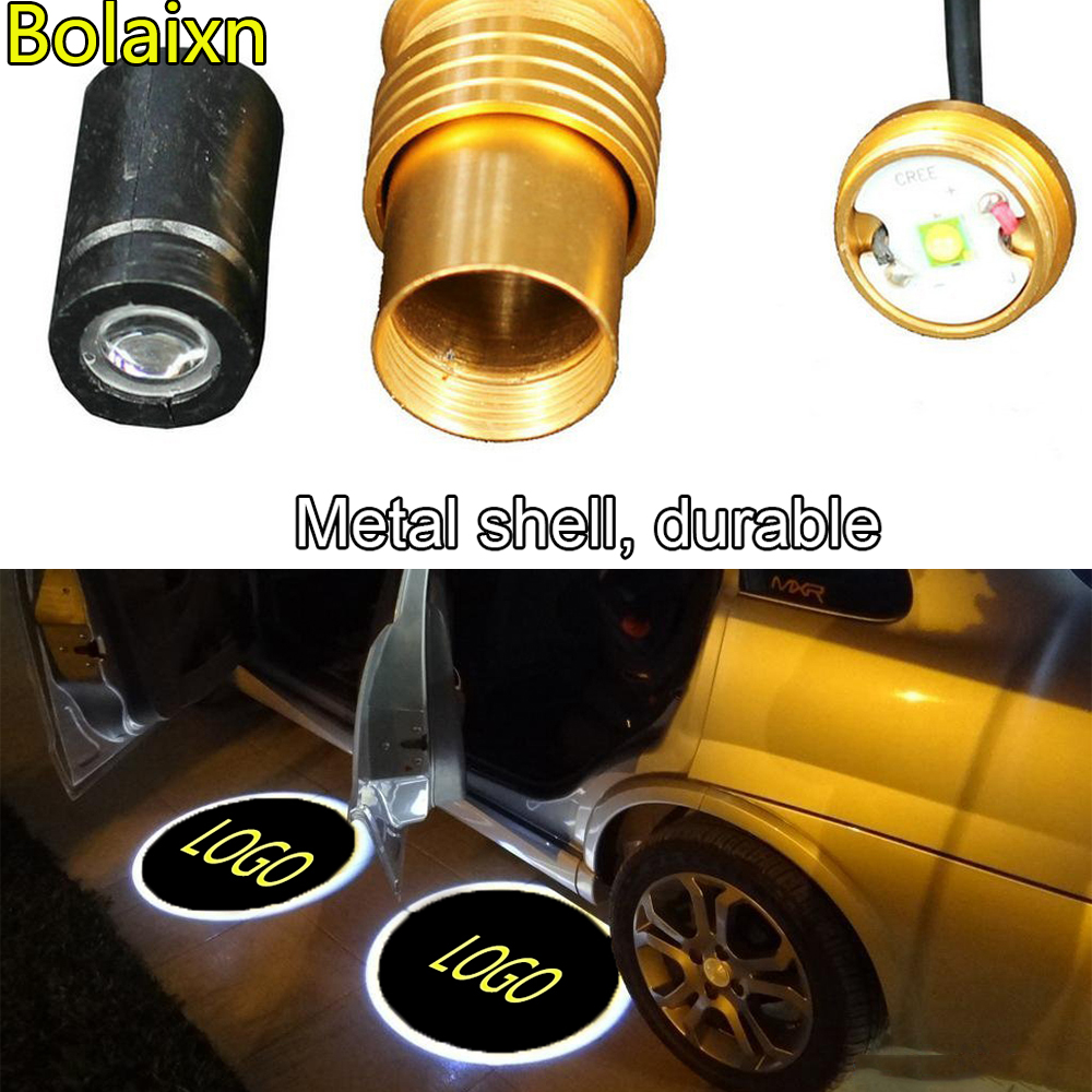 Auto Car Door 5th Gen LED Projector Welcome Logo Ghost Shadow Lights for Toyota