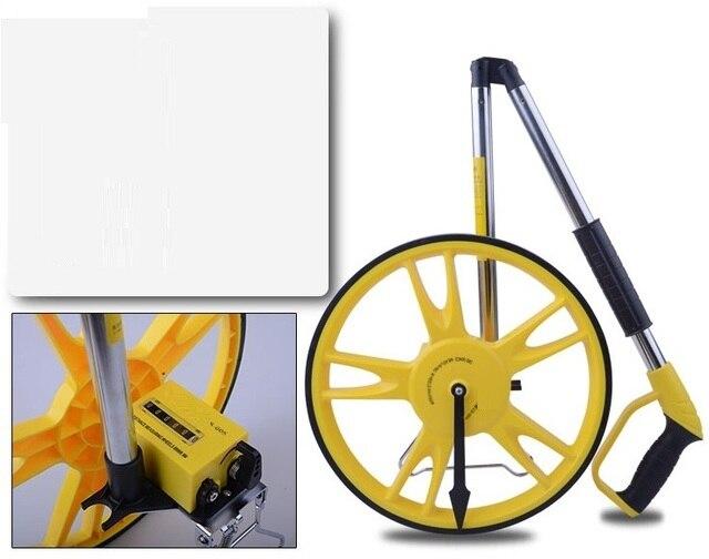 Entfernungsmesser Mit Rad : Hand push mechanische abstand mess rad straße meter boden