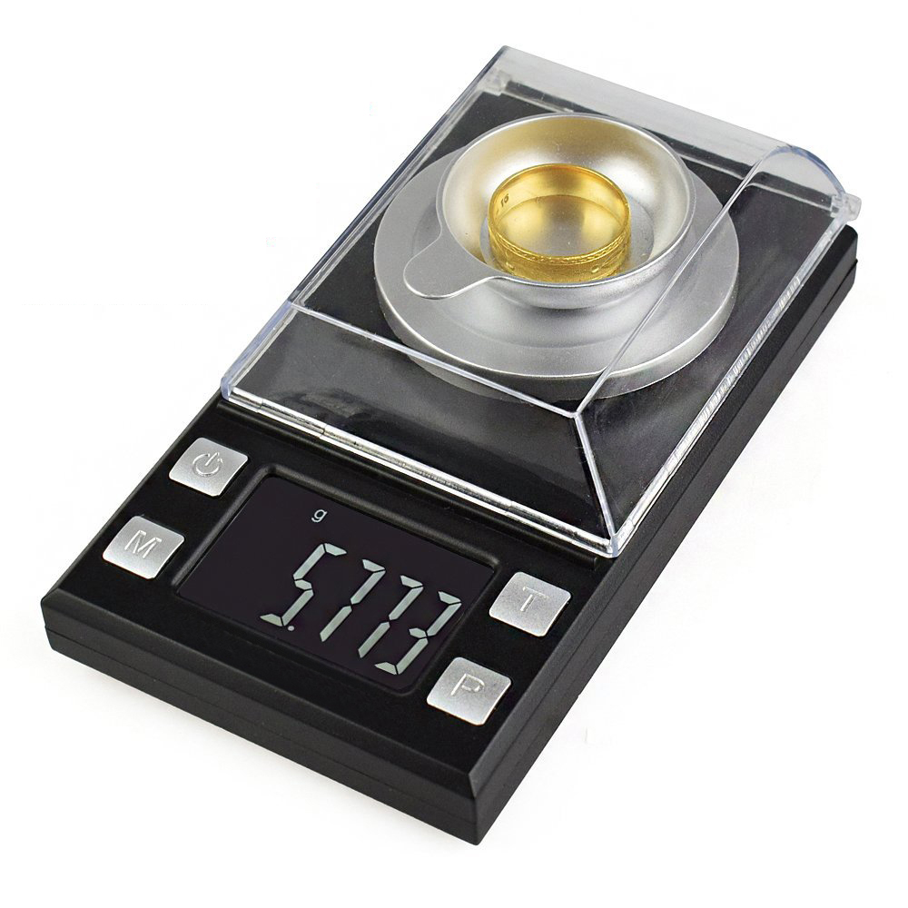 yieryi 10g/20g/50g/100g Electronic Scales LCD Digital Scale 0.001g Jewelry Medicinal Herbs Portable Lab Weight Milligram Scale