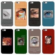Estética maquillaje ojo amor suave funda de teléfono para Huawei Honor 10 9 Lite 8 8C 8X 7C 7X 7A 6C pro jugar 6X 6A 5A 5C 5X V8 V10