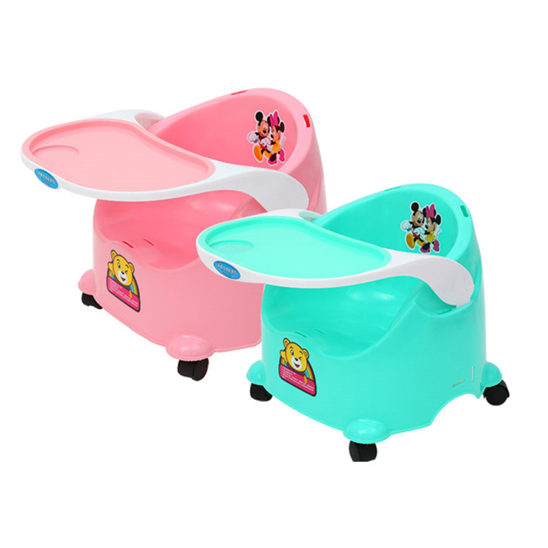 Children's Dining Chair, Infant Table, Baby Eating Table, Multi-function Sliding Dual-purpose Chair, With Small Stool