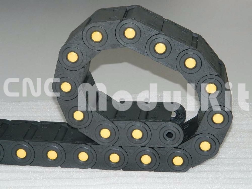 Kabelschlepp Interne Größe 45x50 Insgesamt Geschlossenen Mit Gelb Punkt Industrie Kunststoff Nylon Fot Cnc Router Von Cnc Modulkit Heimwerker