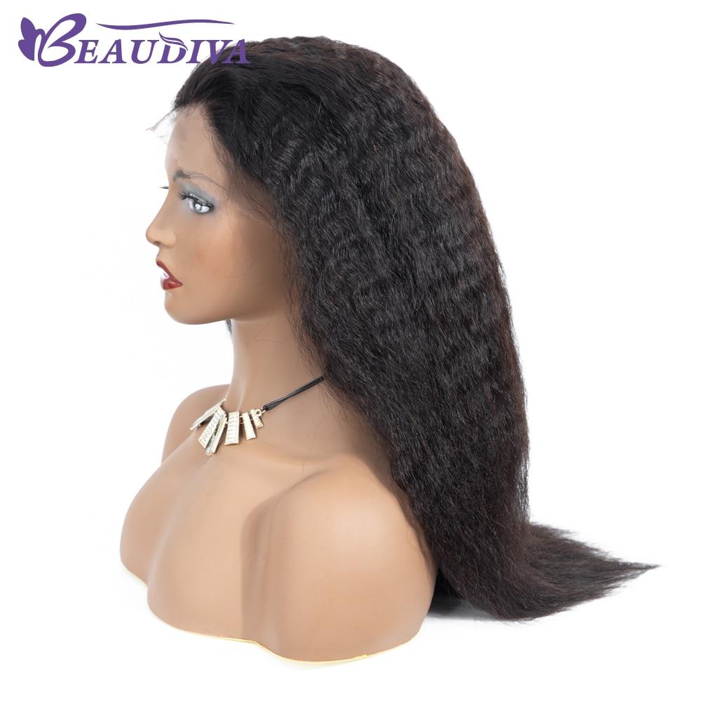 Beaudiva Hair Csipke Front Emberi Haj Paróka Baby Hair Water Wave - Szépség és egészség - Fénykép 3