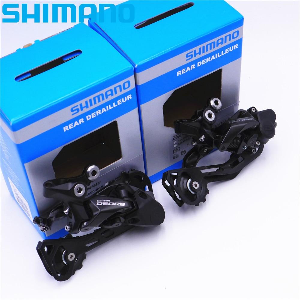 SHIMANO Deore M6000 MTB Mountain Bike Rear Derailleur 10 Speed RD M6000 SGS GS