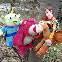 Toy Story Plush Toys Woody Bullseye Horse Lotso Bear Alien Stuffed Doll Toy