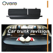 OVERE 1Set Car Rear Trunk Cargo Cover For Lexus RX350 RX270 2010-2015 Car-styling Black Security Shield Shade Auto accessories