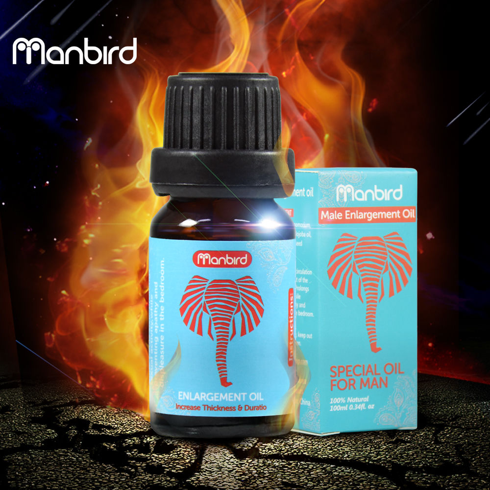 Manbird Big Dick Penis Enlargement Pills Herbal Lubricant Oils for Men Increase Growth Thickening Lube Cream Sex Products