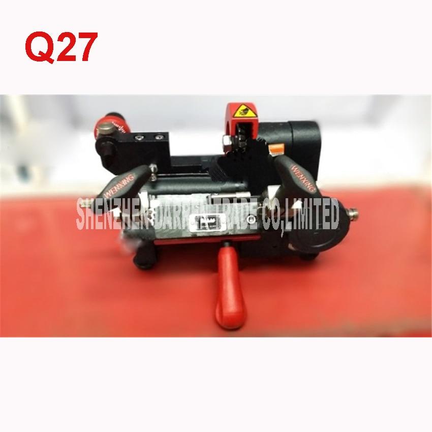Q27 duplicate key wenxing key cutting machine key cutting machine 220V free shipping duplicate sandard key for tubalar key 7 5mm machine klom good quality bk091