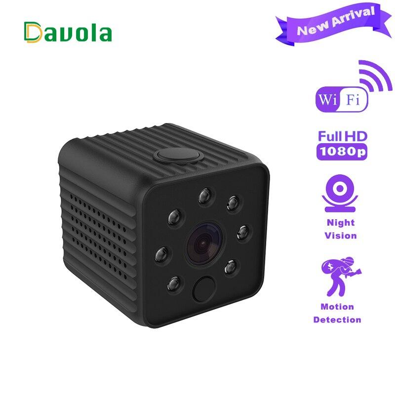 Davola Mini camera wifi hd 1080P wireless video recorder small micro camera Night Vision Home Monitor mini cam ip dvr camcorder все цены