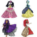 4pcs/lot Fashion Clothes For Monster High Dolls Halloween Dress Party Dresses Vestidos Casual Clothes For Monster Doll Kid Toys