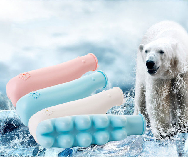 Cute Polar Bear Shaped Ice Cube Trays Mold Summer Cooling Ice Making Tool
