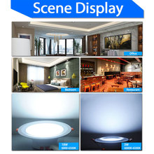 High Bright 4/5/6/7.5inch LED Downlight 3w 7w 12w 18w 220V~240V Ceiling LED Down Light Recessed Lighting Home Foyer Chandelier