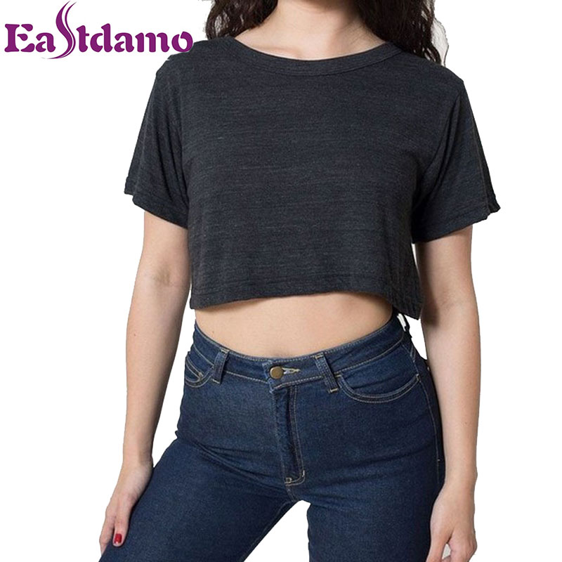 Exquisite Peacock Goddess Art Modern Crop Top This basic t-shirt features a relaxed fit for the female shape. Made from % cotton, this t-shirt is both durable and soft - a great combination if you're looking for that casual wardrobe staple.