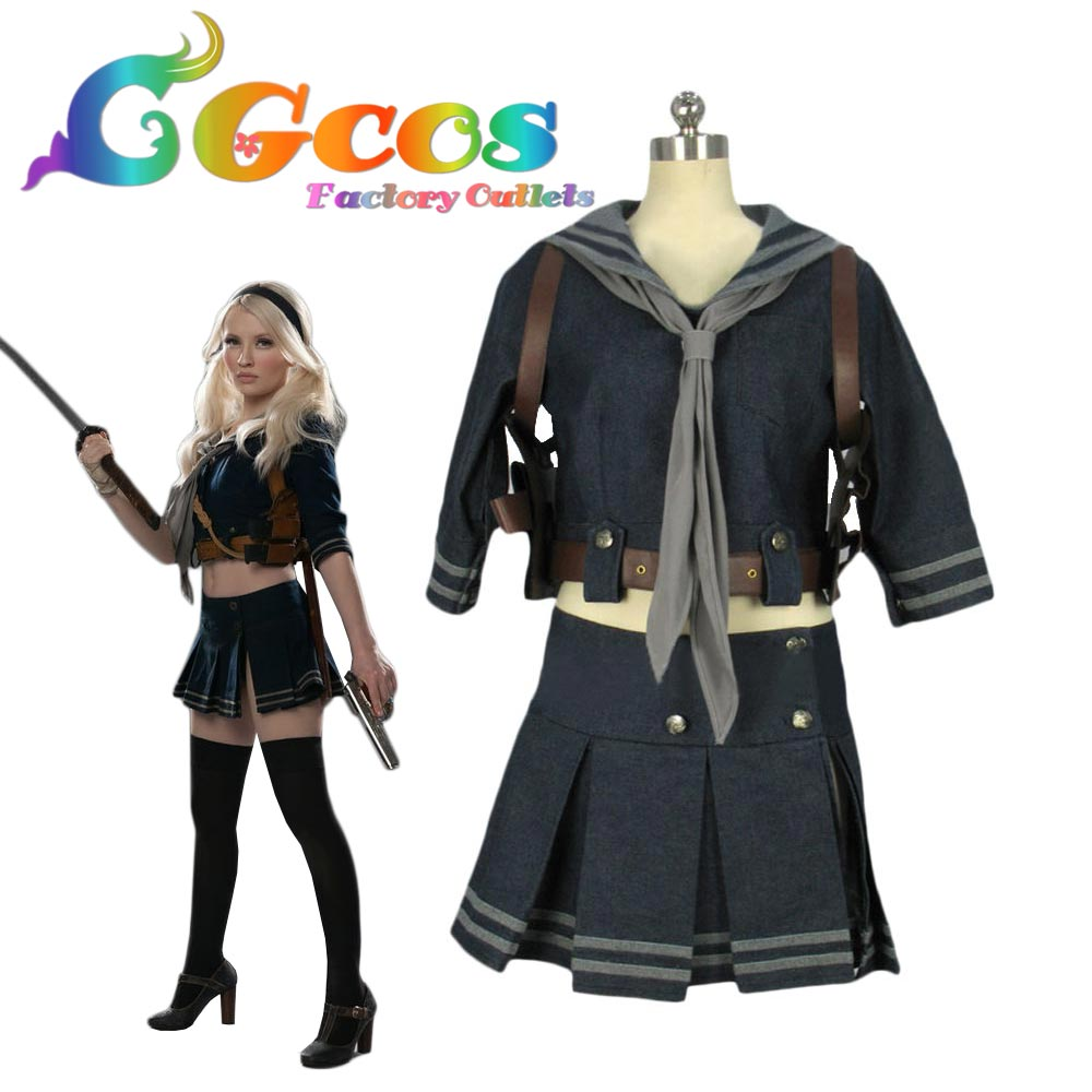 cgcos free shipping cosplay costume cos sucker punch baby doll