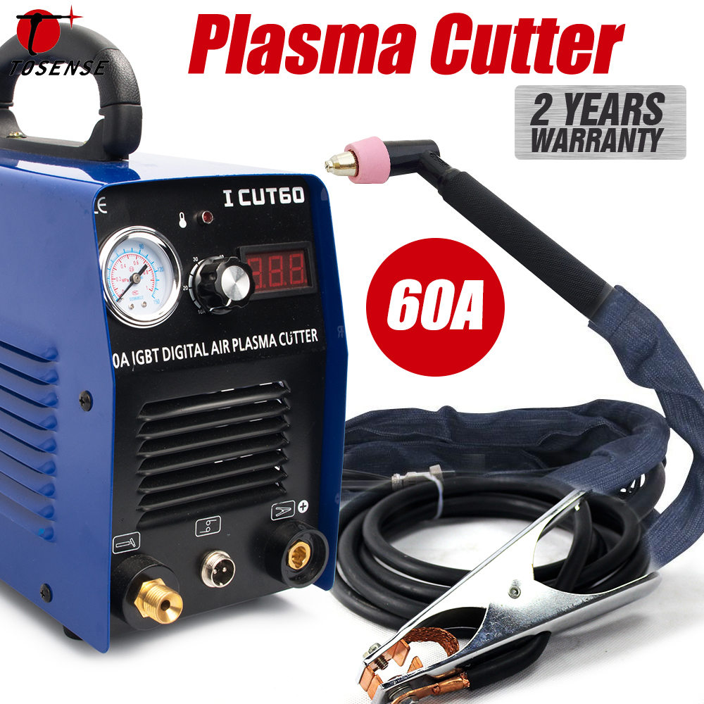 Plasma Cutter Plasma Cutting Machine 60A 20MM Cut IGBT Inverter Digital HF Scrach Start Cutting Machine ICUT60