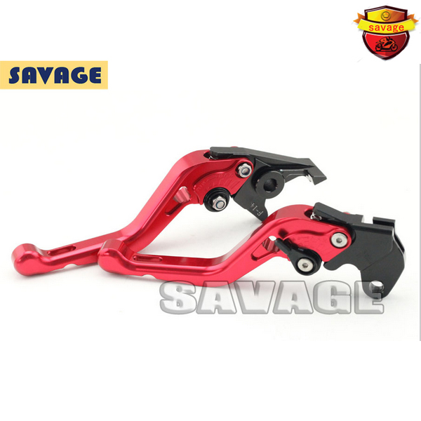ФОТО For YAMAHA MT-03 2005-2009 Red Motorcycle Accessories CNC Aluminum Short Brake Clutch Levers