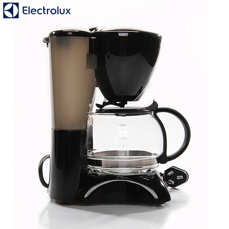 High-quality Automatic 5 Cups Espresso Electric Coffee Maker Black Drip Coffee Machine With Water Window