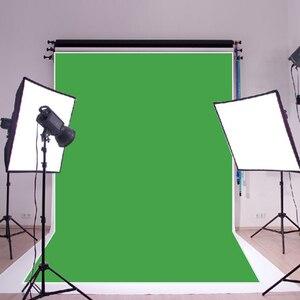 Image 2 - Cromakey Fondo de fotografía verde puro para estudio, accesorios de tela para fotografía