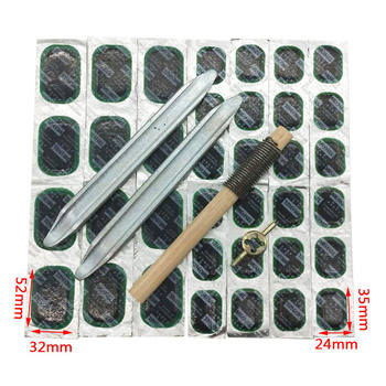 Bicycle  Motorcycle Tire Repair Tools Set Bike Tyre Repair Accessories Kit Cycling Rubber Puncture Patches Kit Tire pry plate portable tubeless tire repair kit tire changer tyre repair for bike motorcycle with glue 48pcs set free shipping