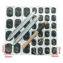 Conjunto de ferramentas de reparo do pneu da motocicleta da bicicleta acessórios de reparo do pneu kit ciclismo borracha punctura remendos kit pneu pry placa