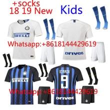 2018 2019 crianças camisa da Inter de Milão Casa Longe do futebol do futebol  camisetas AAA Thai camisa survêtement football Socc. 96a8031d13d9f