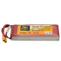 Rechargeable Lipo Batterie ZOP Puissance 11.1 V 6000 mAh 45C 3 S Lipo Batterie XT60 Plug
