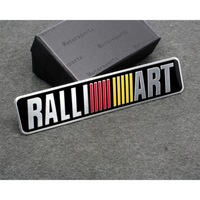 Car Styling Accessories Emblem Badge Decal Sticker RALLIART Racing Motorsport For MITSUBISHI LANCER PAJERO OUTLANDER ASX