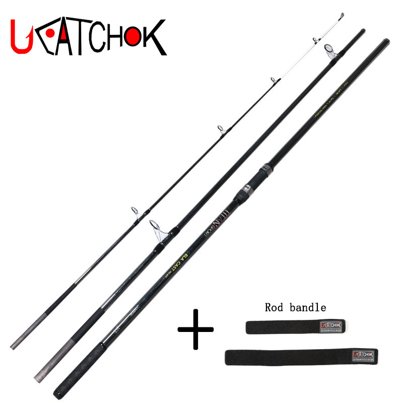 4.2M 46T 100-200g CW surfcasting high carbon fishing rod long casting beach sea far shot distance throwing SIC guides fishing 4 0m sk sic guides 150g lure weight telescopic casting fishing rod beach long shot distance throwing carbon rod fishing tackle