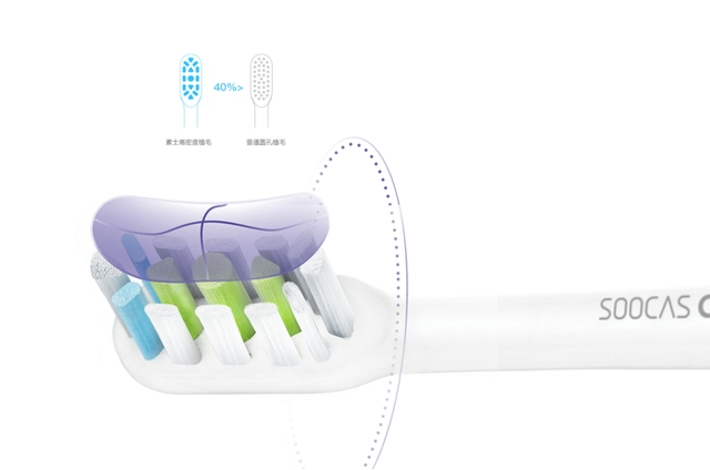 Original Xiaomi Soocare X3 Soocas Smart Bluetooth Wireless Charge Waterproof Acoustic WaveTooth Sonic Toothbrush Mi Home App
