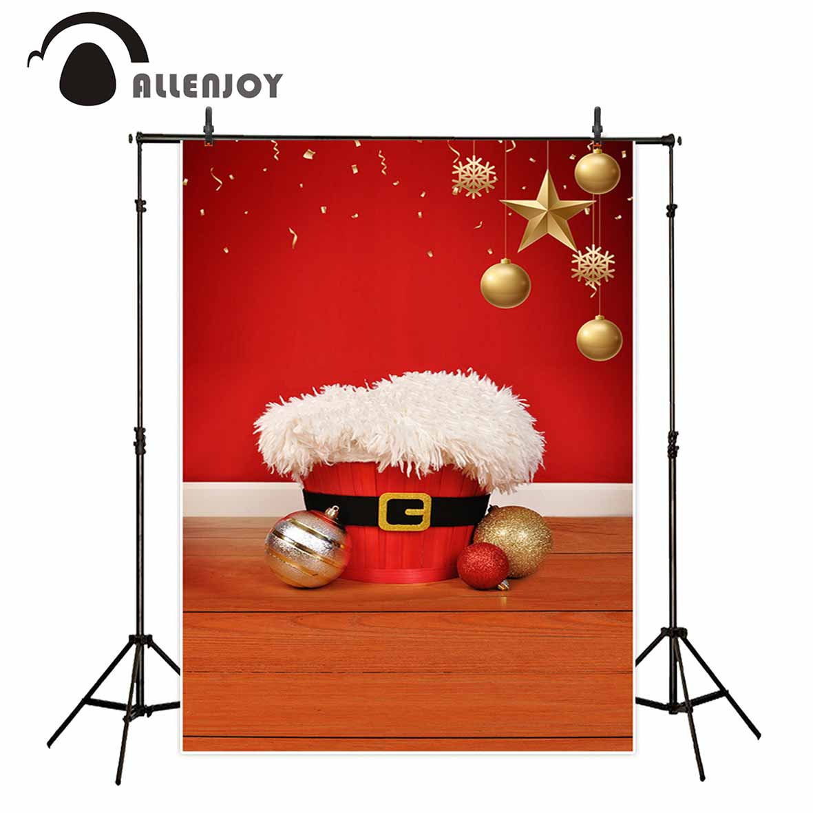 Allenjoy photography backdrop Christmas baby shower stars birthday red background professional photo studio photobooth allenjoy photography background lovely clouds cotton hearts stars rainbow backdrop photo studio camera fotografica