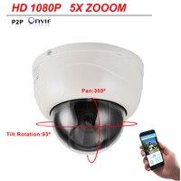 CCTV Security Full HD IP Camera 1080P 2MP 3X Pan Tilt Zoom 4MP Speed Dome PTZ