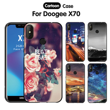 цена на JURCHEN Phone Case For Doogee X70 Case Cover 5.5 inch Cute Cartoon Soft Silicone Back Cover For Doogee X70 Case DoogeeX70 Funda