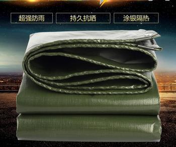 Przetwarzania dostosować wielu rozmiar zieleń wojskowa na świeżym powietrzu wodoodporna pokrywa plandeki deszcz plandeki pył ochronna materiał mat tanie i dobre opinie Daily