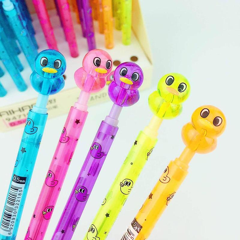 0 5mm Cute Kawaii Cartoon Duck Transparent Plastic