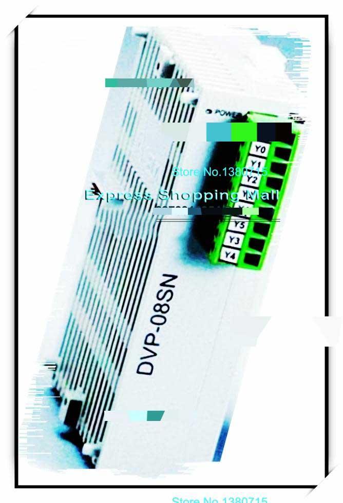все цены на New Original DVP08SN11TS DELTA DC24V PLC 8DO transistor PNP Module онлайн