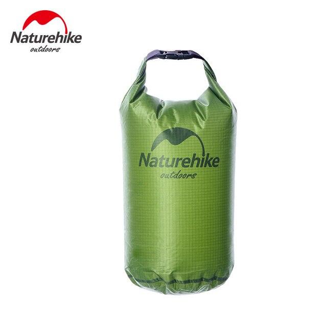 Naturehike 5L 10L 20L Lghtweight Waterproof Dry Bag Storage Bag for Camping Rafting Sports Kayaking Canoeing Swimming Dry Sack 2