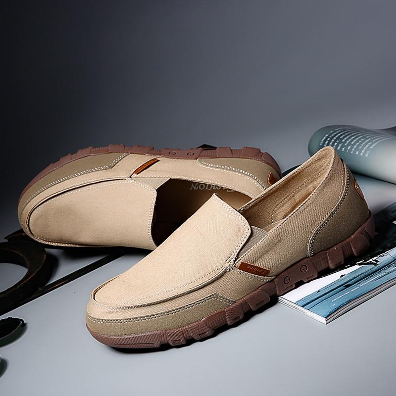 Toile Gentlemans 40 kf604 Mocassins Blanc Eur Kf601 Hombre 617 kf602 Sur Slip Casual Chaussures Confortable Bleu Kf601 Plat Hommes Bonne 45 kf605 kf606 C1 Qualité kf603 5ALq3R4j