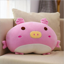 купить 50cm New Style Cute Pink Pig Plush Toy Stuffed Animal Pig Doll Toy Soft Plush Pillow Children Soothe Doll Toys по цене 1070.11 рублей
