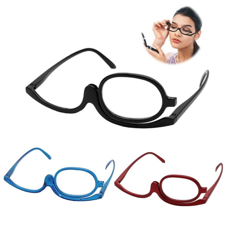 Men's Glasses Magnifying Glasses Makeup Cosmetic Reading Glass Folding Eyeglasses 1.0~+4.0 W715