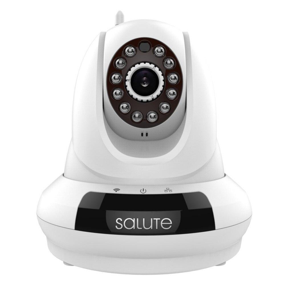 Wifi HD IP Baby Monitoring Surveillance Security Camera Pan/Tilt Plug & Play Two