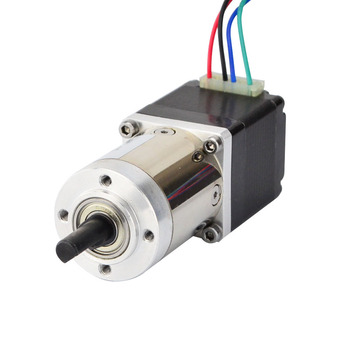 Nema 11 Stepper Motor 14:1 Planetary Gearbox Dual Shaft Nema11 Geared Stepper Motor 0.67A DIY CNC 3D Printer image