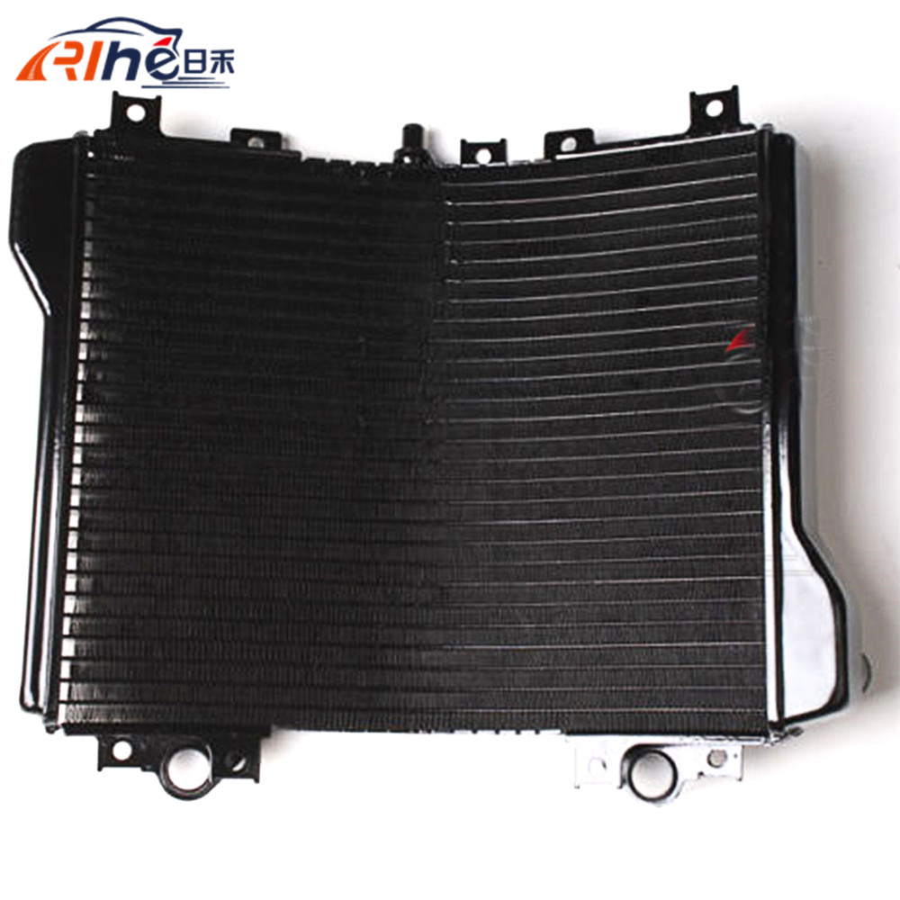 motorcycle radiator cooler aluminum motorbike radiator black For Kawasaki ZX11 ZX1100 ZZR1100 92 93 94 95 96 97 98 99 00 01 02