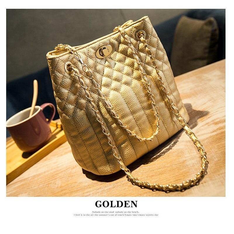 RHYME Women Shoulder Bag PU Falabellas Clutch With 2 Chains Evening Socialite Tote Fashion Sac A