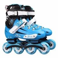Professional Skate Shoes Fancy Single row Roller Skates Adult Inline Skates Universal Skating Rink Skates For Men And Women