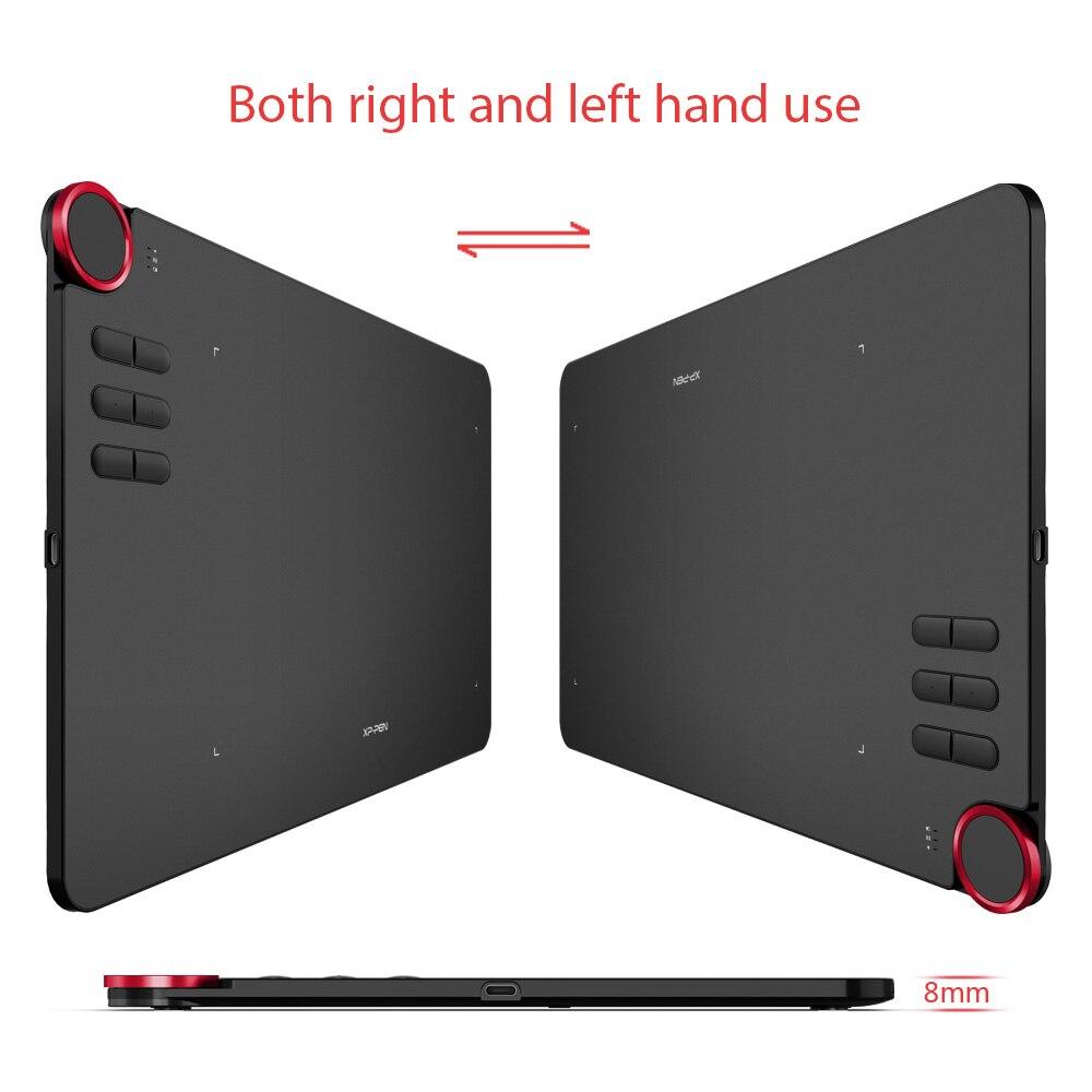 XP-stylo déco 03 sans fil graphique numérique dessin tablette dessin stylo tablette avec stylet passif sans batterie et 6 raccourci - 2