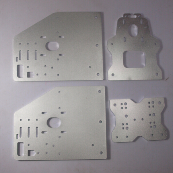 SWMAKER OX CNC Machine Parts OX X Axis Front Plate+OX_Y_Gantry_Plate 6mm+OX Back X Axis Plate Motor Plate
