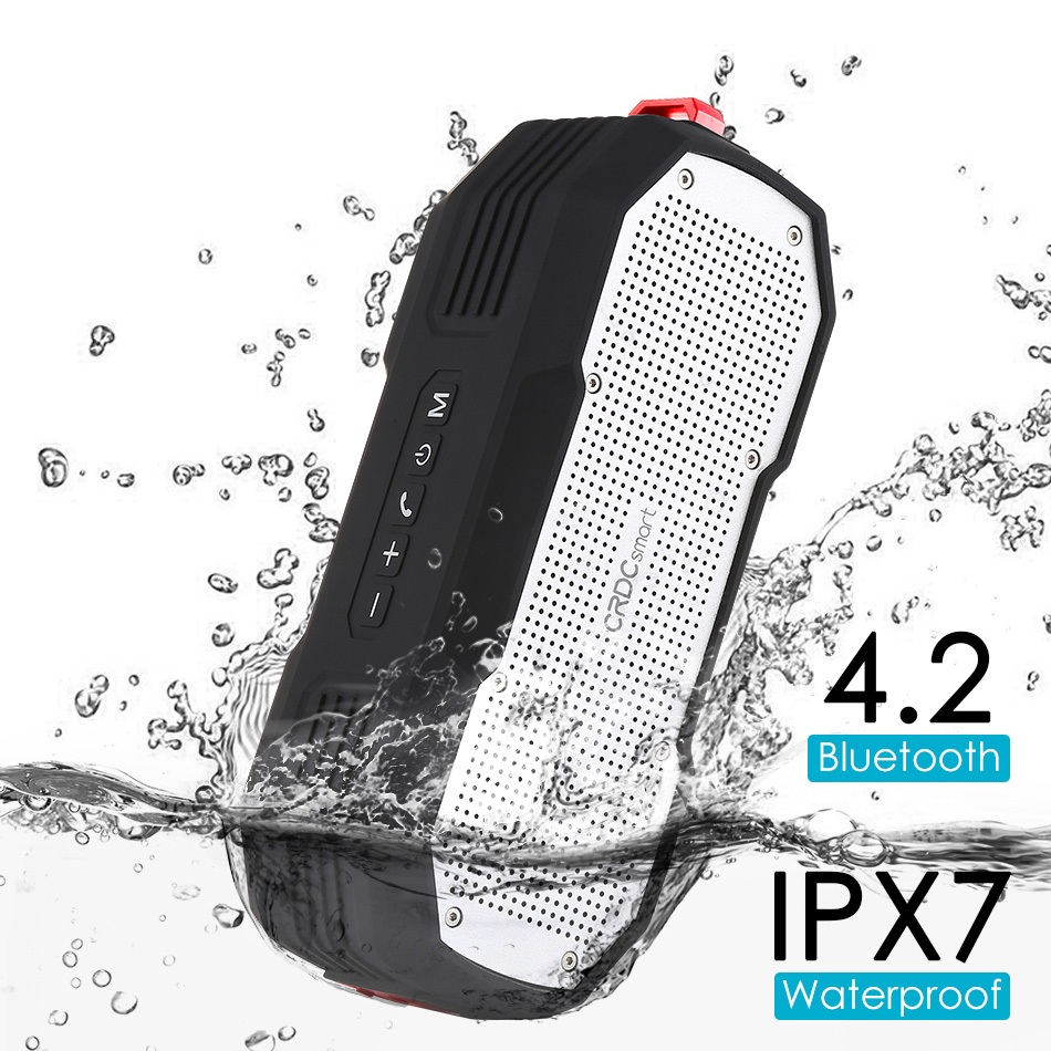 Waterproof MP3 /& MP4 Player Accessories Bluetooth Speaker,Outdoor With Bicycle